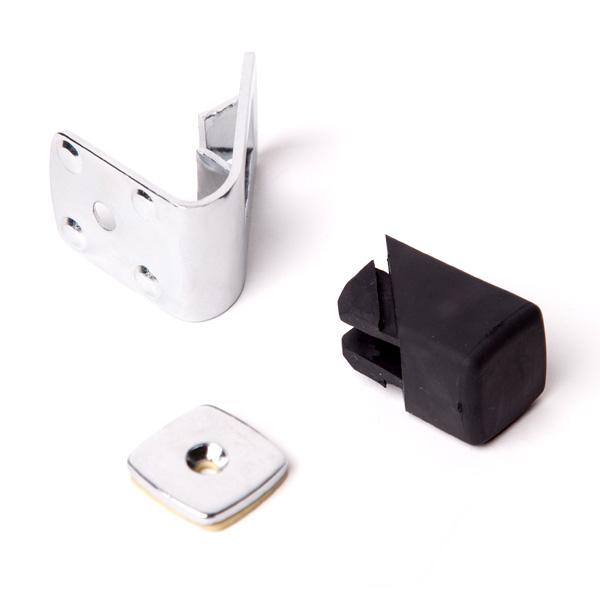 Magnetverschluss Türaufsteller 2 in 1 Bodenmontage und Wandmontage