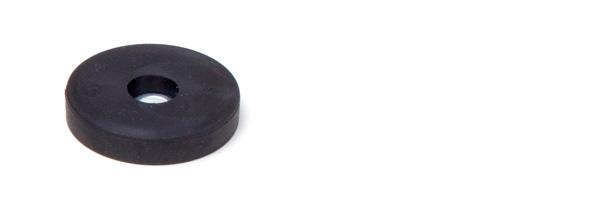 flachsysteme gummiert haftsysteme Serie Ladym Stop Typ LZ mit Bohrung