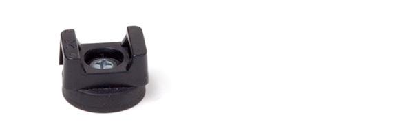 flachsysteme gummiert haftsysteme Serie Ladym Stop Type K mit Kabelhalter