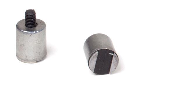 Zylinder mit Gewindestift Magnet Serie CF 00 ohne Kragen