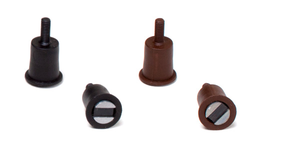 Zylinder mit Gewindestift Magnet Serie JS mit Kragen