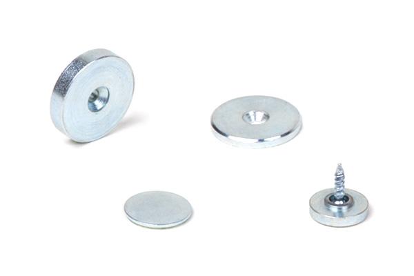 Magnet Gegenstücke rund