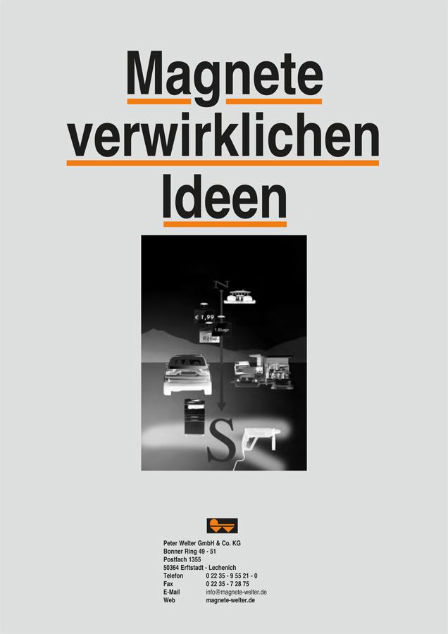 Magnete Welter Köln Katalog